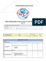 AC-0082 - IWCF Drilling Well Control Level 2 Cross Reference Form.