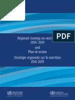 nutritional strategic plan 2010-2019