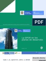 Gestión Pública Orientada a Resultados de Desarrollo