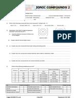 Chemsheets GCSE 1059 Ionic Compounds 2