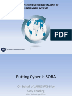 JARUS Safety Impacts of Cyber Vulnerabilities Applied to SORA_Thurling