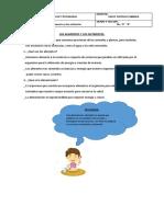 CLASE III DE CIENCIA Y AMBIENTE DE SEXTO