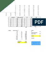 Ejemplo de  tabla analisis