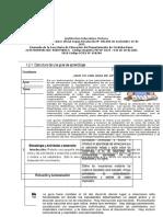 ESTRUCTURA  DE UNA GUIA DE APRENDIZAJE(REVISADA)