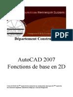 Cours 2D AUTOCAD 2007.pdf