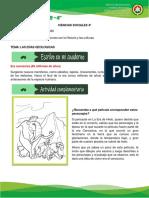 CIENCIAS SOCIALES 4° CENOZOICO-ANTROPOZOICO