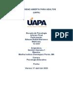 trabajo final de gestion humana proyecto de investigacion de los subsistemas de RRHH1GRUPO RICA