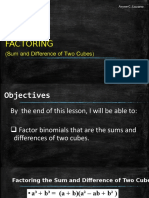 5-a. Factoring the Sum or Difference of Two Cubes.pptx