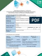Guía de Ruta y Avance de Ruta para la Realimentación - Fase 2. Plan y Acción Solidaria. (1)