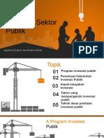 Analisis Investasi Sektor Publik Kelompok 1