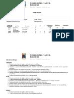 PLANILLA DE NOTAS TERCERO EDUCACIÓN FISICA