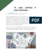 Revista Retratos ODS16