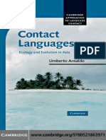 Contact Languages_ Ecology and Evolution in Asia (Cambridge Approaches to Language Contact) ( PDFDrive.com )