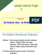 2. 3. al-Hakim, mahkum fih