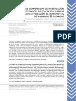 Aguirre-2016 Desarrollo competencias investigación -ok