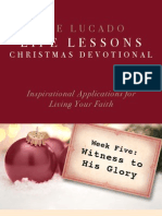 Lucado Life Lessons Christmas Devotional - Week 5