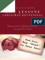 Lucado Life Lessons Christmas Devotional - Week 4