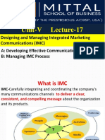 L17 Designing and Managing Integrated Marketing Communications