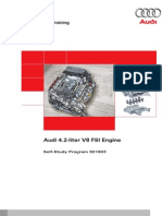 Audi SSP 4.2 V8 FSI