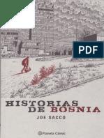 Joe Sacco-Historias de Bosnia 2000