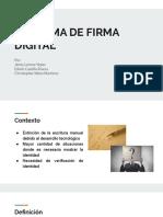 ESQUEMA DE FIRMA DIGITAL