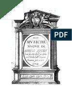 Angelo Notari - Prime Musiche Nuove