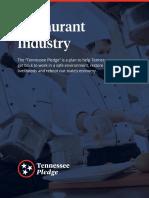 Tennessee Pledge Restaurants