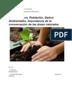 Clima Relieve, Población, Daños Ambientales, Importancia de la conservación de las áreas naturales