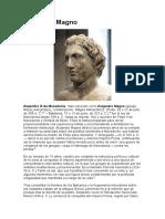 Alejandro Magno Comunicacion