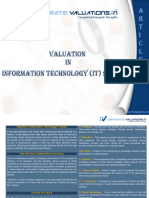 Valuation in IT Sector After Covid