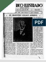 El maestro Julián Andino