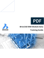 Bricscad BIM Module Training Guide