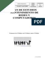 MANTENIMINETO DE REDES Y COMPUTADORES  M-MED-DI-025