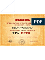 BUG geek-kviz certifikat