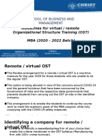 Online OST Guidelines Mar2020