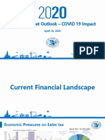 Cook County COVID 19 budget outlook