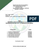 DESARROLLO UNIDAD. IV, V y VI- LÓGICA JURÍDICA