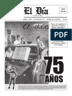 diario el dia 75 aniversario