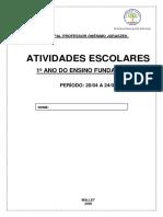 PLANO DE AULA 1 ANO ONÉSIMO (1)