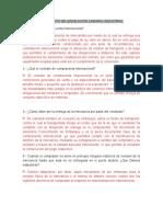 Cuestionario y Diagrama de flujo.