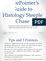 ThreePointer's Guide to Histology Steeple Chase for 022 class