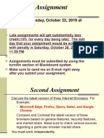 Task - Second Assignment Fall 2019