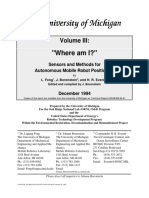 Sensors and Methods for Autonomous Mobile Robot Positioning