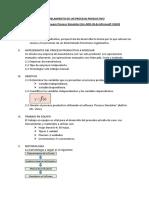 1. Modelamiento de Proceso Productivo
