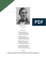 POEMS Emerson, Ralph Waldo Brahma (1856) analysis