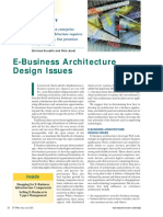 27th jan e-business_arch_design_issues 2251