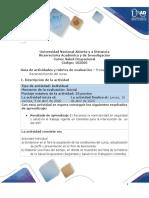 Guia de actividades y Rúbrica de evaluación - Pre-tarea-Reconocimiento de salud ocupacional.pdf