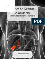 Colangiocarcinoma - Klatskin - Tumor de Ampula