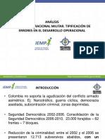 Analisis Juridico Operacional, Errores (1)