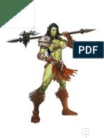 Gamora - Barbarian